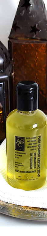 organic and detergent free handmade liquid soap made with extra virgin olive oil