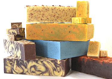 wholesale  handmade soap loaves, bars and blocks