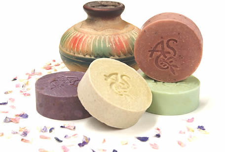 round soap slices